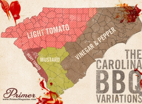 BBQ Sauce Map